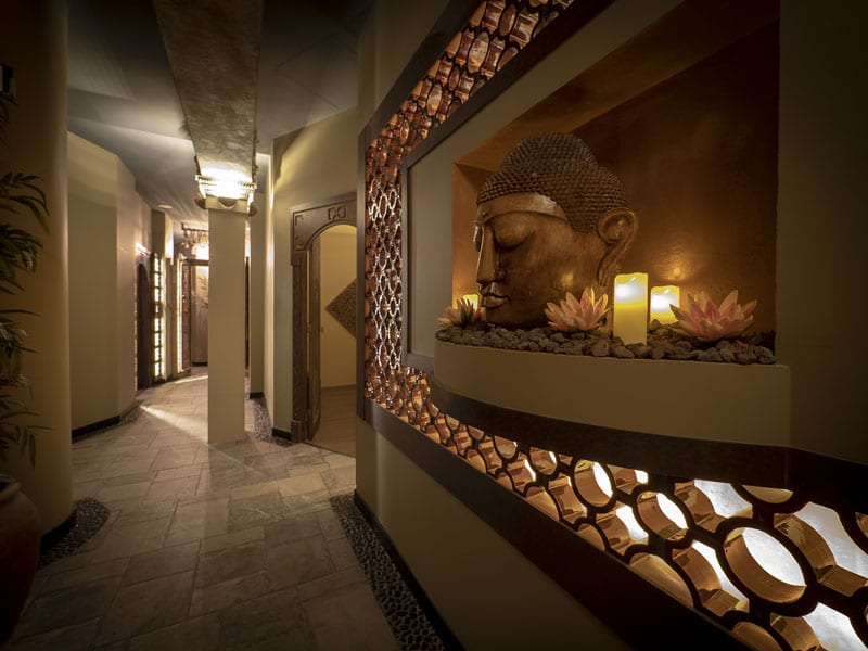 interior de wellness spa