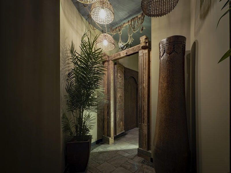 interior decoration of the best spa in barcelona