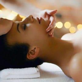 masaje facial y corporal en spa