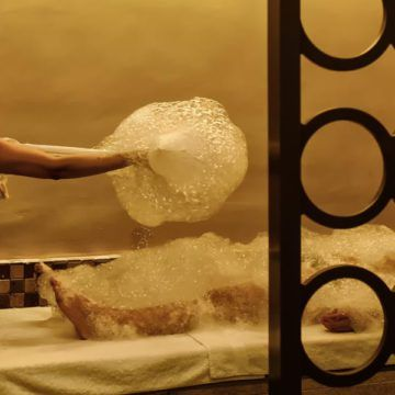 Turkish Bath Foam Massage & Scrub