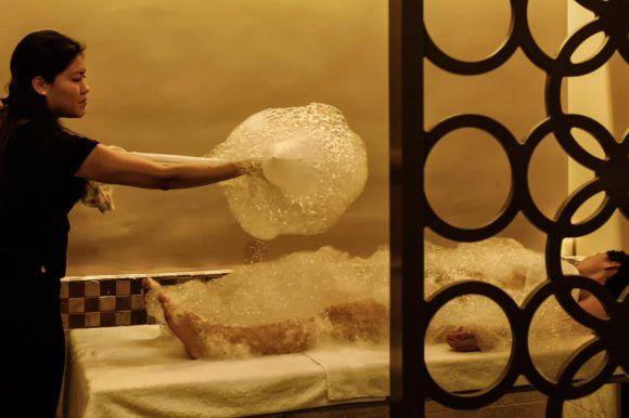 Turkish Bath Foam Massage & Scrub
