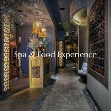 wellness spa and food experience
