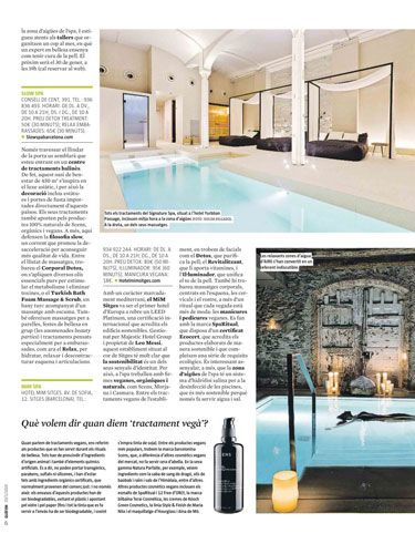 Slow Spa revista Què Fem