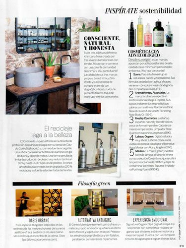 Slow Spa revista Woman