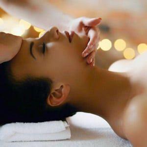 oferta masaje facial y corporal
