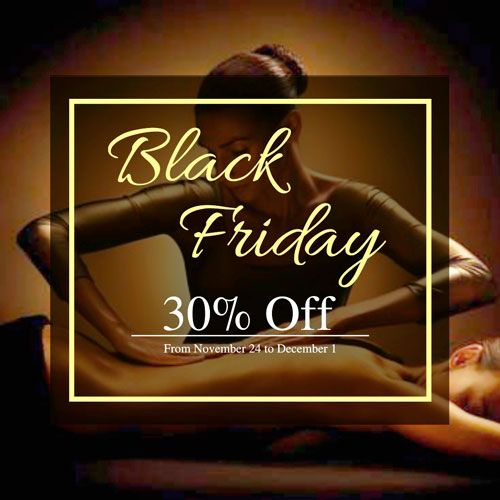 Black Friday promotions Slow Spa