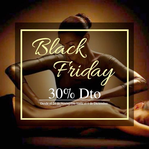 Black Friday promociones Slow Spa