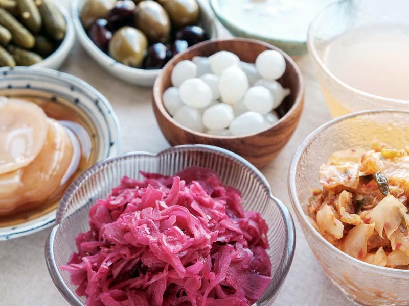 Probiotic foods for intestinal microbiota