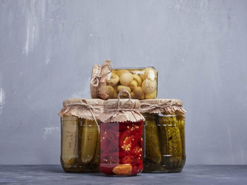 Pickled vegetable food