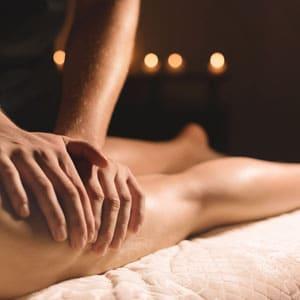 Leg fatigue massage promotion